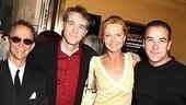 Tony winners congregate 2006 - Joel Grey - Boyd Gaines - Joan Allen - Mandy Patinkin