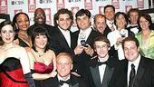 Tonys 2004 - Winners Circle - Avenue Q crew