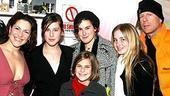 Stars Backstage at Wicked - Shoshana Bean - Scout Willis - Rumer Willis - Tallulah Belle Willis - family friend - Bruce Willis