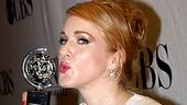 2010 Tony Winners Circle – Katie Finneran (kissing)