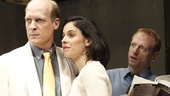Jim Fletcher as Jim, Victoria Vazquez as Daisy and Scott Shepherd as Nick in Gatz.