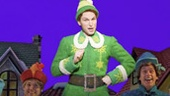 Sebastian Arcelus as Buddy and cast in Elf.