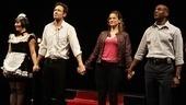 Break of Noon Opening Night – Tracee Chimo, David Duchovny, Amanda Peet, John Earl Jelks