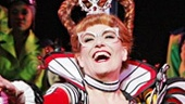 Natalie Hill, Karen Mason as Queen of Hearts, Kate Loprest and Morgan James in Wonderland.