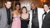 Among the Broadway actors who sang for Patti on their night off were Memphis stars Chad Kimball, Montego Glover and James Monroe Iglehart and Priscilla's Nick Adams.