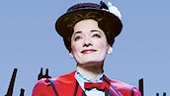 Laura Michelle Kelly as Mary and Gavin Lee as Bert in Mary Poppins.