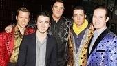 Kevin Jonas at Million Dollar Quartet – Jared Mason – Kevin Jonas – Lance Guest – Eddie Clendening – Eric Hayden