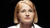 Ellen Barkin as Dr. Emma Brookner in The Normal Heart.