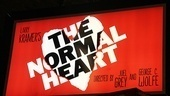 The Normal Heart Opening Night – marquee