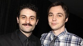 Bengal Tiger's Arian Moayed chats up The Normal Heart's Jim Parsons.