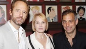 Co-stars John Benjamin Hickey, Ellen Barkin and Joe Mantello can't wait to see how they've been captured in caricature.