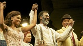 Leading trio Audra McDonald, Norm Lewis and David Alan Grier are all smiles after their opening A.R.T. performance.