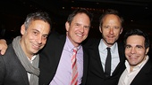 Seems like yesterday that Joe Mantello and David Marshall Grant co-starred in Angels in America! The pals pose with John Benjamin Hickey and Mario Cantone.
