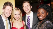 Godspell opens - Eric Michael Krop - Julia Mattison - Corey Mach - Joaquina Kalukango