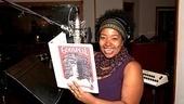 Godspell recording – Celisse Henderson