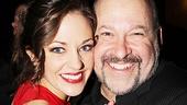 <i>Bonnie & Clyde</i> opening night – Laura Osnes – Frank Wildhorn
