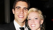 Adorable leading couple Josh Segarra and Patti Murin are ready to party!