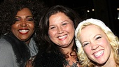Dance Moms' Abby Lee Miller cracks up Lysistrata Jones' Liz Mikel and Patti Murin.