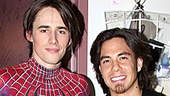 Apolo Anton Ohno Backstage at Spider-man - Apolo Anton Ohno – Reeve Carney