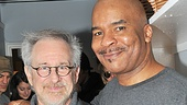 David Alan Grier welcomes Steven Spielberg to the Richard Rodgers Theatre. See Grier, McDonald and company in Porgy and Bess, now extended through the summer!