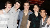 Newsies- Ryan Breslin, Garett Hawe, Ryan Steele, Kyle Coffman and Aaron J. Albano