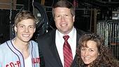 Jim Bob & Michelle Duggar Backstage at Godspell – Jim Bob Duggar – Michelle Duggar - Hunter Parrish
