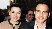 Death of a Salesman- Julianna Margulies and her husband Keith Lieberthal