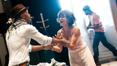 Streetcar Named Desire rehearsal – Wood Harris – Nicole Ari Parker – Blair Underwood