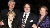 Newsies – Opening Night – Harvey Fierstein – Jackie Fierstein - Ron Fierstein – Dorsey Fierstein