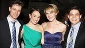 Newsies – Opening Night – Kevin Massey – Kara Lindsay – Ashley Spencer – Jeremy Jordan
