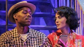 Wood Harris as Mitch and Nicole Ari Parker as Blanche in A Streetcar Named Desire.