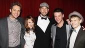 Anything Goes - Joel Grey Sleep No More Birthday – Colin Hanlon – Kate Wetherhead - Wade McCollum - Brian Letendre - Andrew Keenan-Bolger