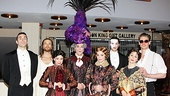 """Jesus Christ Superstar's leading couple Paul Nolan and Chilina Kennedy join the cast of Phantom of the Opera for Downton Abbey spoof """"Phantom Abbey."""" We love the Maggie Smith-inspired hat!"""
