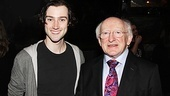 Irish President Visits Once –  Will Connolly – Michael D. Higgins