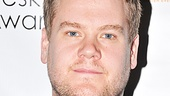 Why so serious, James Corden!? The One Man, Two Guvnors star shows off his serious side and his piercing blue eyes.