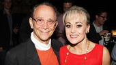 Anything Goes star Joel Grey shares a book party pic with Best Actress Tony nominee Tracie Bennett.