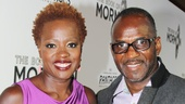'Book of Mormon' LA Opening—Viola Davis—Julius Tennon
