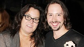 Rosie O'Donnell at 'Once' — Rosie O'Donnell — J. Michael Zygo