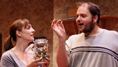 Julia Murney as Tami and Daniel Everidge as Josh in Falling.