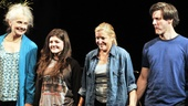 Harper Regan Opening Night – Mary Beth Peil – Madeleine Martin – Mary McCann – Gareth Saxe (curtain call)