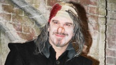 Underneath all that make-up is one charismatic actor! Douglas Hodge takes his opening night bow as Cyrano de Bergerac.