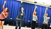 Bare – Rehearsal – Sara Kapner – Alex Wyse – Alice Lee – Gerard Canonico – Ariana Groover