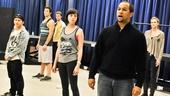 Bare – Rehearsal – cast - Jerold Solomon