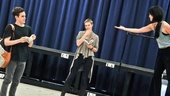 Bare – Rehearsal – Taylor Trensch – Missi Pyle – Alice Lee
