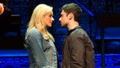 Betsy Wolfe as Cathy and Adam Kantor as Jamie in The Last Five Years.