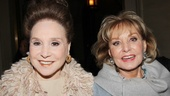 'Lucky Guy' Opening — Cindy Adams — Barbara Walters