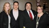 Kinky Boots Opening-Lauren Foster- Brad Fierstein- Ron Fierstein- Dorsey Regal