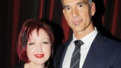 2013 Drama League Awards Luncheon — Cyndi Lauper — Jerry Mitchell