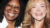Pippin – Whoopi Backstage Visit – Whoopi Goldberg – Rachel Bay Jones