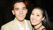 2013 Theatre World Awards — Conrad Ricamora — Ruthie Ann Miles